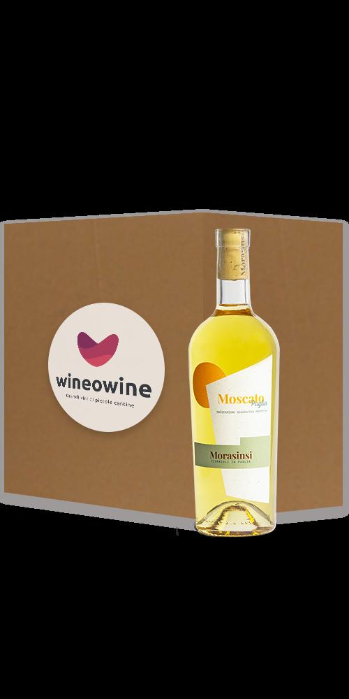 Moscato Puglia IGP 2018 [5+1 Gratis + Extra Sconto] - Morasinsi