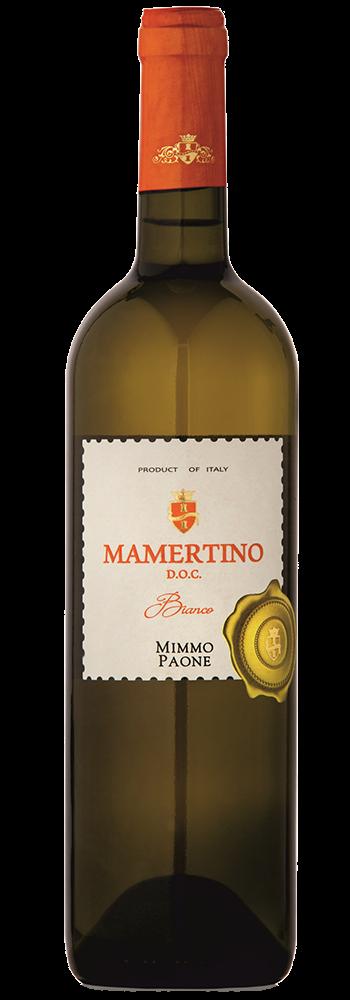 Mamertino Di Milazzo Bianco Messina DOC 2019 - Mimmo Paone