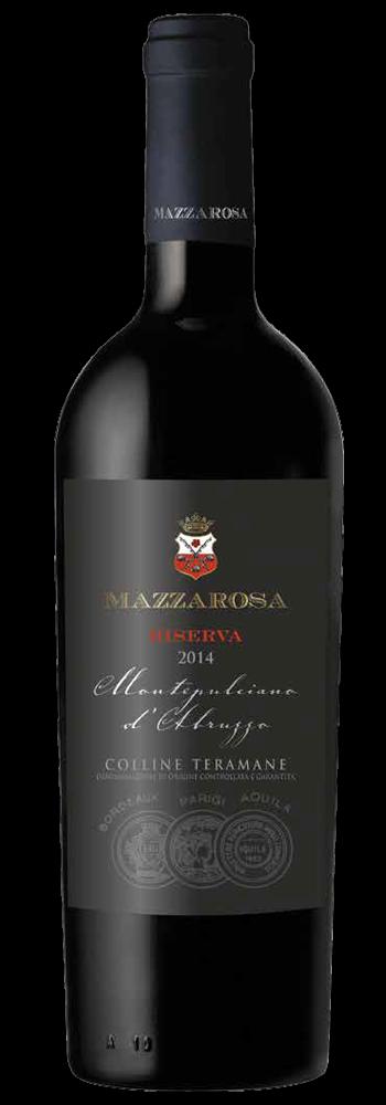 Montepulciano d'Abruzzo Riserva Colline Teramane DOCG 2014 - Mazzarosa