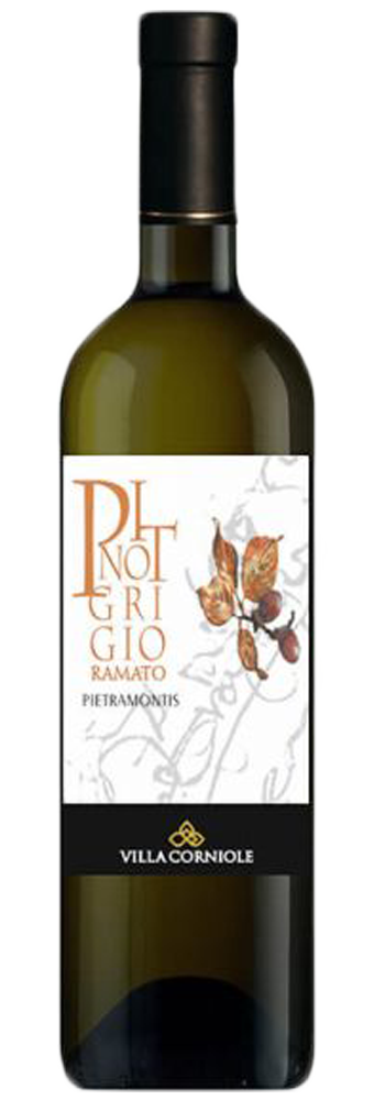 Pinot Grigio Ramato IGT Dolomiti Pietramontis 2017- Villa Corniole