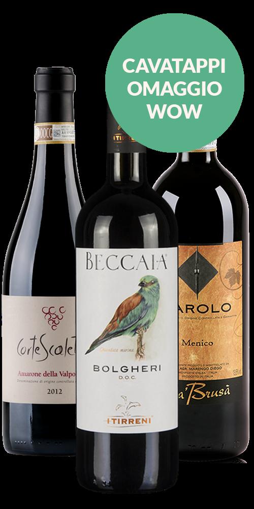 Il Regalo Perfetto: Barolo, Bolgheri e Amarone