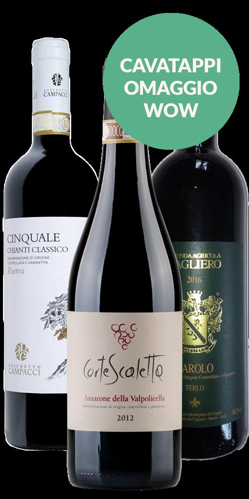 Il Regalo perfetto: Amarone, Barolo e Chianti Classico