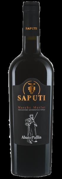 "Marche Merlot IGT ""Abate Pallia"" 2014 - Saputi"