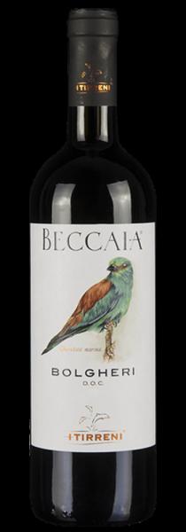 """Bolgheri DOC """"Beccaia"""" 2019 - I Tirreni"""