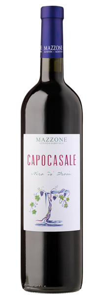 """Nero di Troia IGP Murgia """"Capocasale"""" 2018 - Mazzone"""
