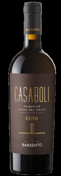 """Primitivo Gioia del Colle DOC Riserva """"Casaboli"""" 2017 - Cantine Barsento"""