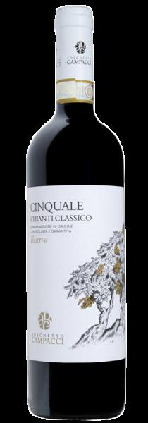 """Chianti Classico DOCG Riserva """"Cinquale"""" 2016 - Agricola Boschetto Campacci"""