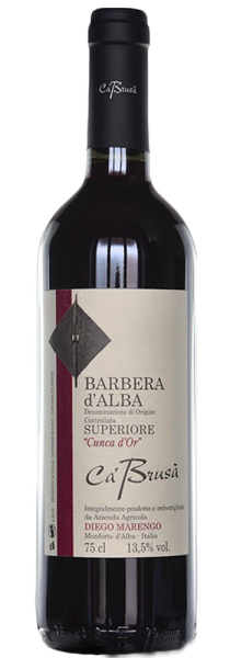"Barbera d'Alba Superiore ""Cunca d'Or"" 2017 - Ca' Brusà"
