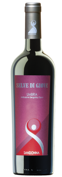 """Umbria Rosso IGT """"Selve di Giove"""" 2017 - Sandonna"""
