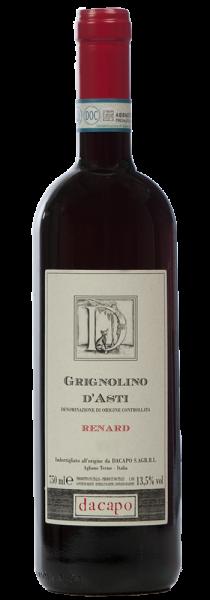 "Grignolino d'Asti DOC ""Renard"" 2018 - Dacapo - Ca ed Balos"