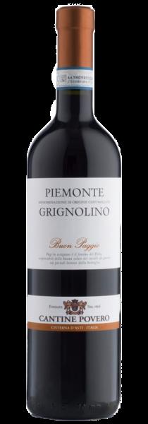 """Piemonte DOC Grignolino """"Buon Paggio"""" 2020 - Cantine Povero"""
