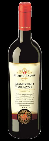 Mamertino Di Milazzo Rosso Messina DOC 2017 - Mimmo Paone