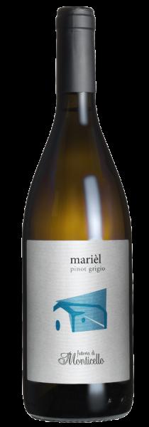 """Pinot Grigio Umbria IGT """"Marièl"""" 2019 - Fattoria di Monticello"""