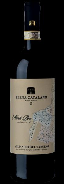 """Aglianico del Taburno DOCG """"Monte Pino"""" 2016 - Elena Catalano"""