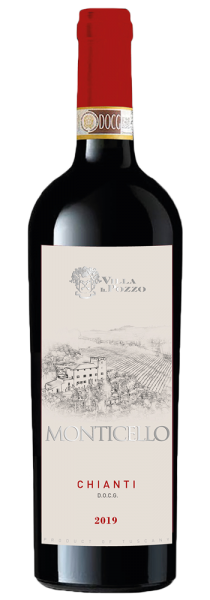 """Chianti DOCG """"Monticello"""" 2019 - Villa Il Pozzo"""