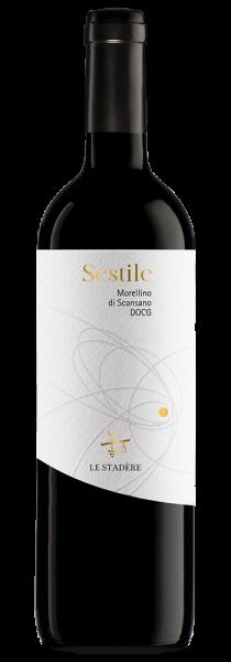 """Morellino di Scansano DOCG """"Sestile"""" 2018 - Le Stadère"""