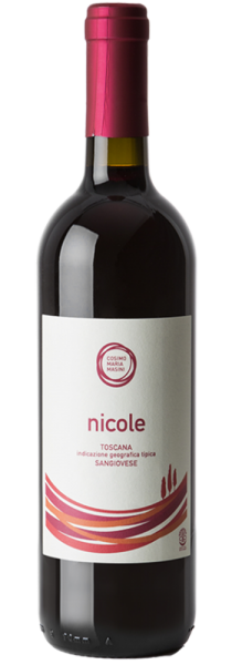 """Sangiovese Toscano IGT """"Nicole"""" 2018 - Cosimo Maria Masini"""