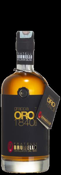 Grappa Oro1840 Invecchiata - Distilleria Brunello