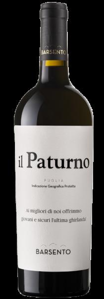 """Primitivo IGP Puglia """"Il Paturno"""" 2018 - Cantine Barsento"""