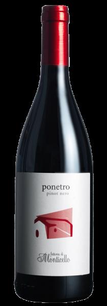 """Pinot Nero Umbria IGT """"Ponetro"""" 2017 - Fattoria di Monticello"""