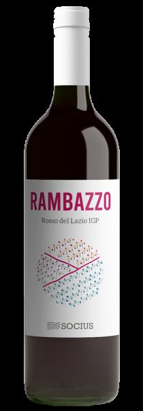 """Lazio Rosso IGP """"Rambazzo"""" 2019 - Vigneti Socius"""