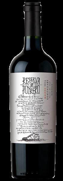 "Reserva Malbec ""Potrero"" 2017 - Vinos de Potrero"