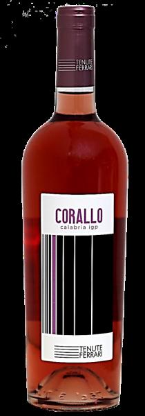 """Calabria Rosato IGP """"Corallo"""" 2019 - Tenute Ferrari"""