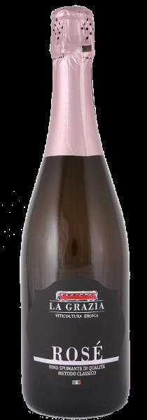 Rosè Brut Metodo Classico - La Grazia Viticoltura Eroica