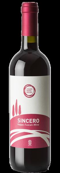 """Toscana Rosso IGT """"Sincero"""" 2019 - Cosimo Maria Masini"""