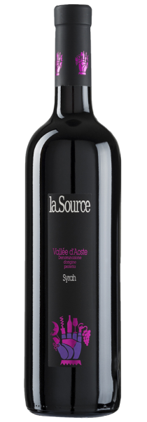 Valle d'Aosta DOP Syrah 2014 - La Source