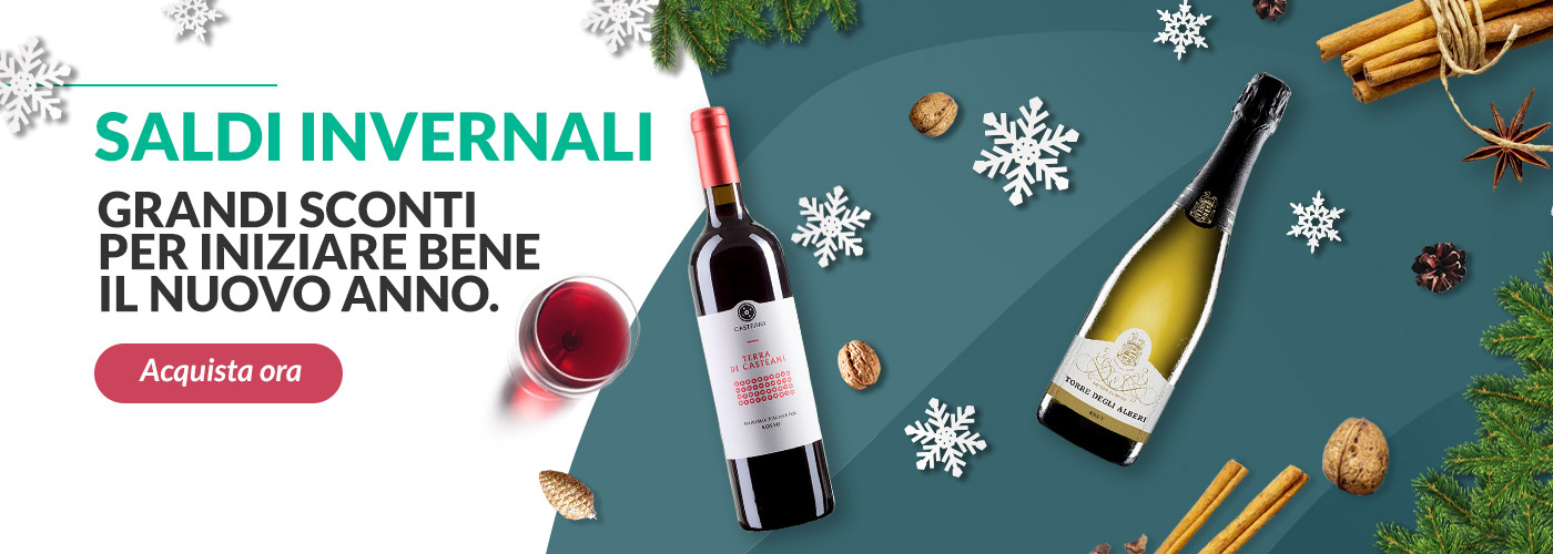 Saldi invernali - vino online